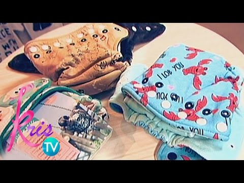 Kris TV: How to clean cloth diapers