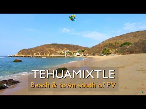 Tehuamixtle Beach in Cabo Corrientes, 2 hours S of Puerto Vallarta