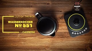 Unboxing CARRERA Wasserkocher No.551