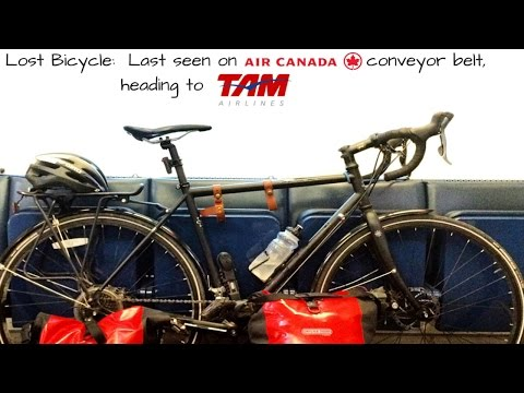 Air Canada And Tam Airlines Lose 6'x4' Bicycle Box.