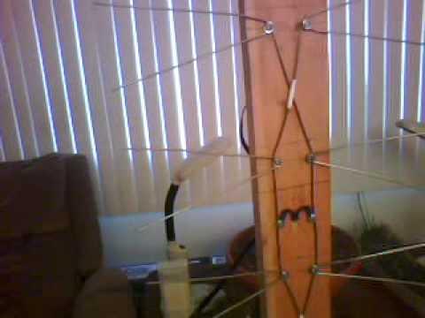New Improved HDTV Coat Hanger Antenna - UHF / VHF