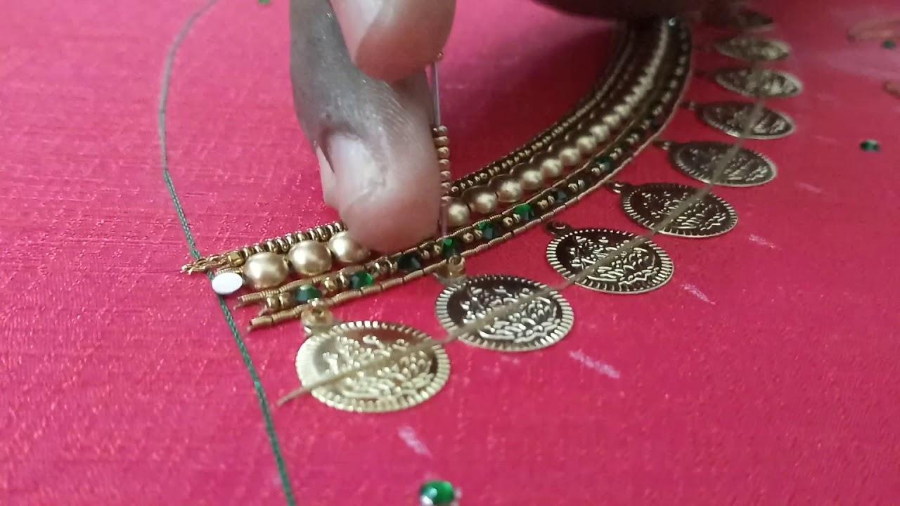 lakshmi coin for aari work
