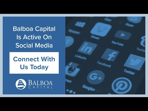 Connect with Balboa Capital on Social Media