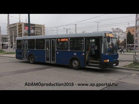 Utazás Ikarus 415-el a 31-es vonalán (HD) MTZ mp3 letöltés