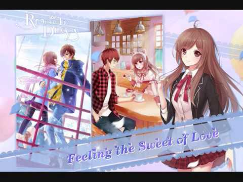 Romantic Diary Anime Dress Up Android Game Music Youtube