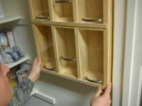 Canned Food Storage Area Wall Hanging