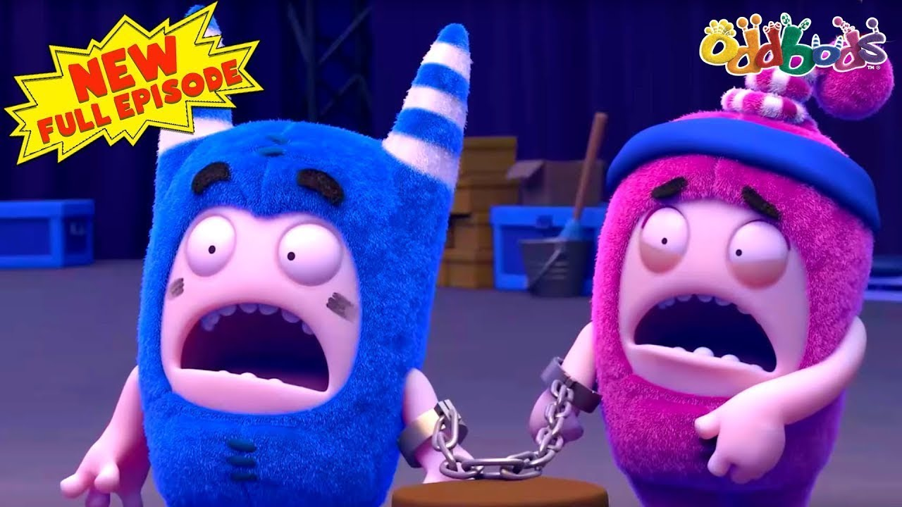 Oddbods | NEW | STUCK ON YOU | Full EPISODE | Funny Cartoons For Kids