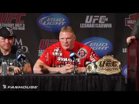 Brock Lesnar Looks Back On UFC 116 Submission Win