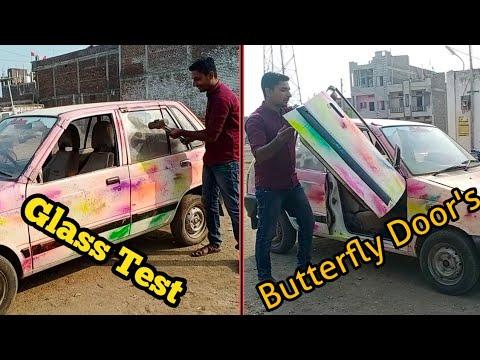 How to Make Lamborghini Door for Maruti 800 // Wasim Creation