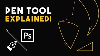 Pen Tool Explained! | Photoshop tutorial