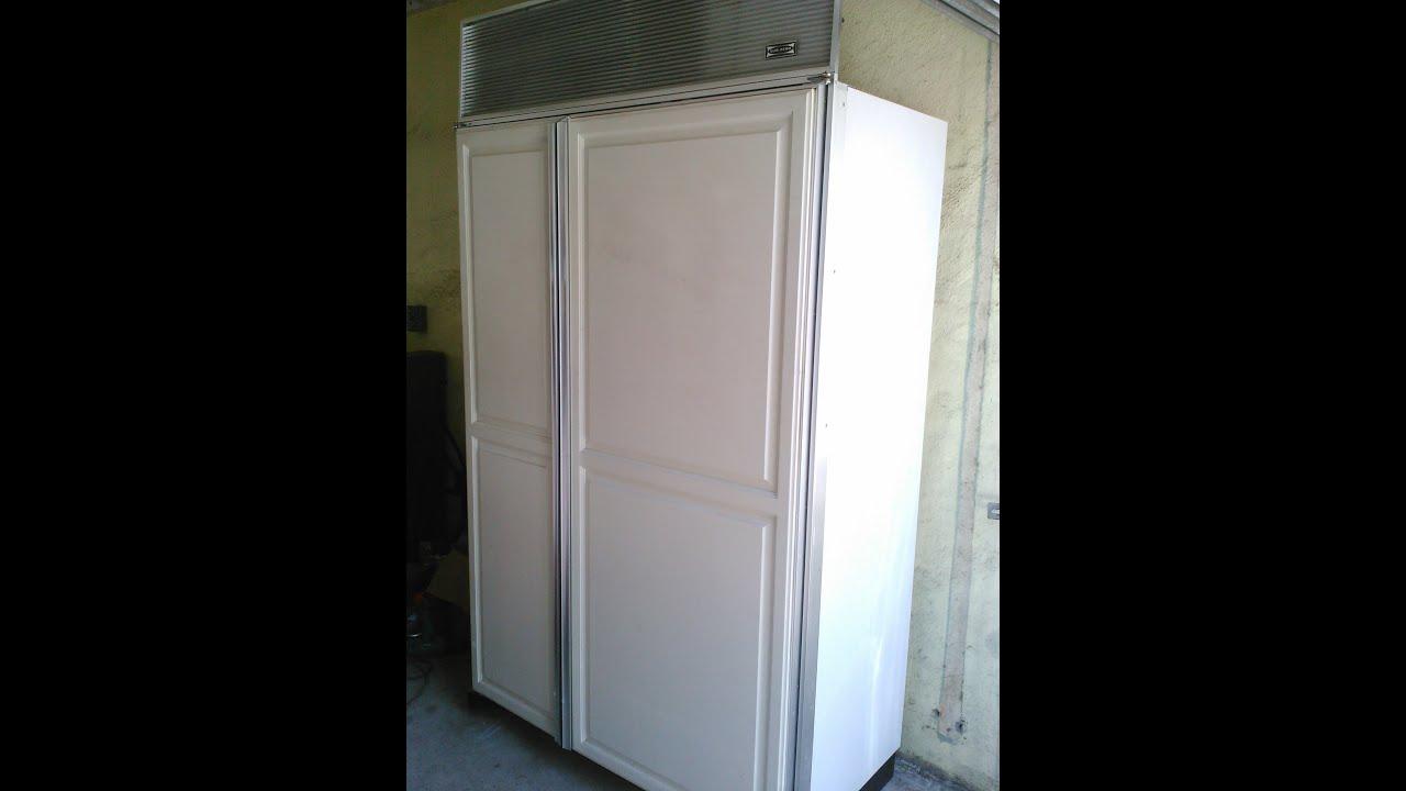 "Sub Zero 3211RFD 48"" Refrigerator Problems Observations"