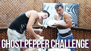 THE GHOST PEPPER CHALLENGE!