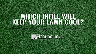 Which Infill Will Keep Your Turf Cool?