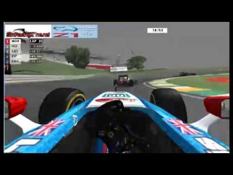rFactor F1 2013 Sim Racing Zone RF1 Brazilian Grand Prix Full Race Broadcast