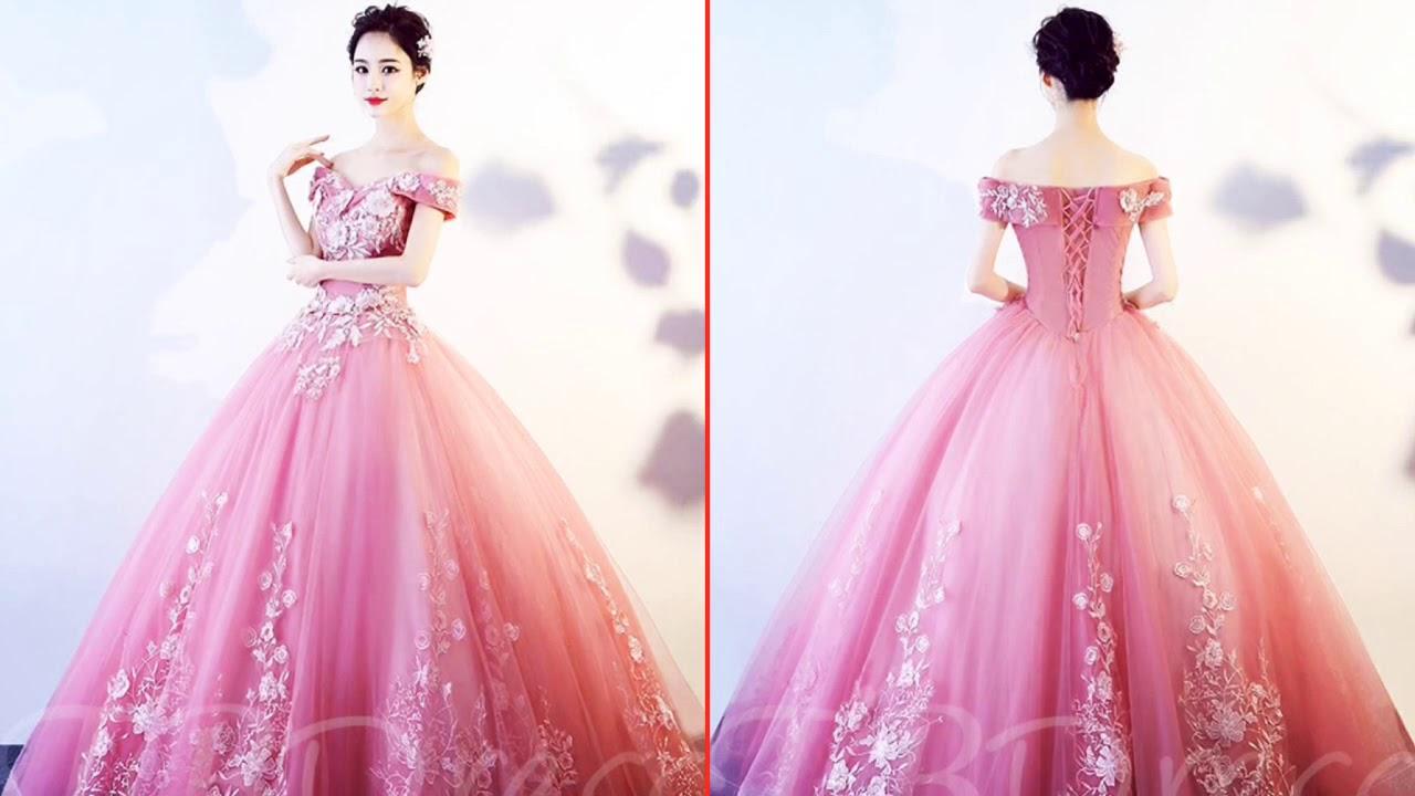 Hermosos Vestidos De Xv Años Color Rosa 2019
