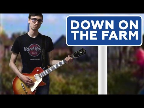 Down on the Farm by Guns N'Roses/UK Subs (guitar cover)