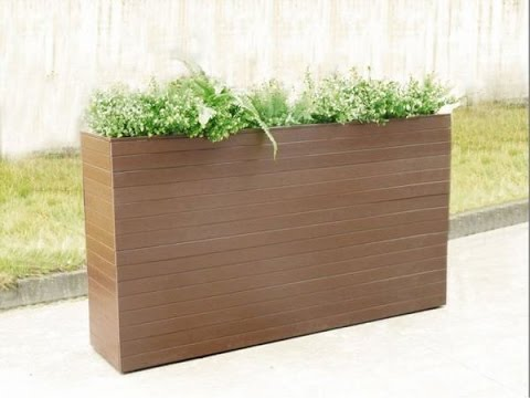 Box To Look Like Wood Composite Planter Box Kit Youtube