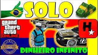 GTA 5 💰GLITCH SOLO DINHEIRO INFINITO PS4, XB1, PC💲DUPLICAR CARROS SOLO!💲APÓS DINHEIRO CONGELADO💲1.43