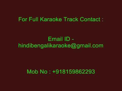 Ke Bale Thakuma Tomar - Karaoke - Kumar Sanu - Priyotama Mone Rekho (2003)