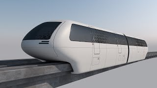 Can you race with a maglev train to win?