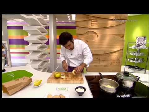 Cocina Con Bruno | Cocina Con Bruno Oteiza Alcachofas Rellenas De Foie Y Manzana