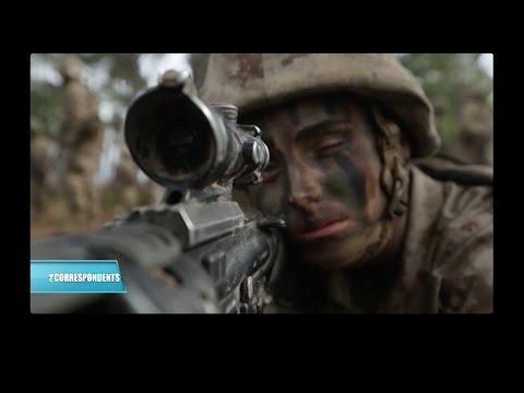 Female Marine First