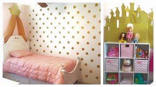Decoracion de cuarto para niña
