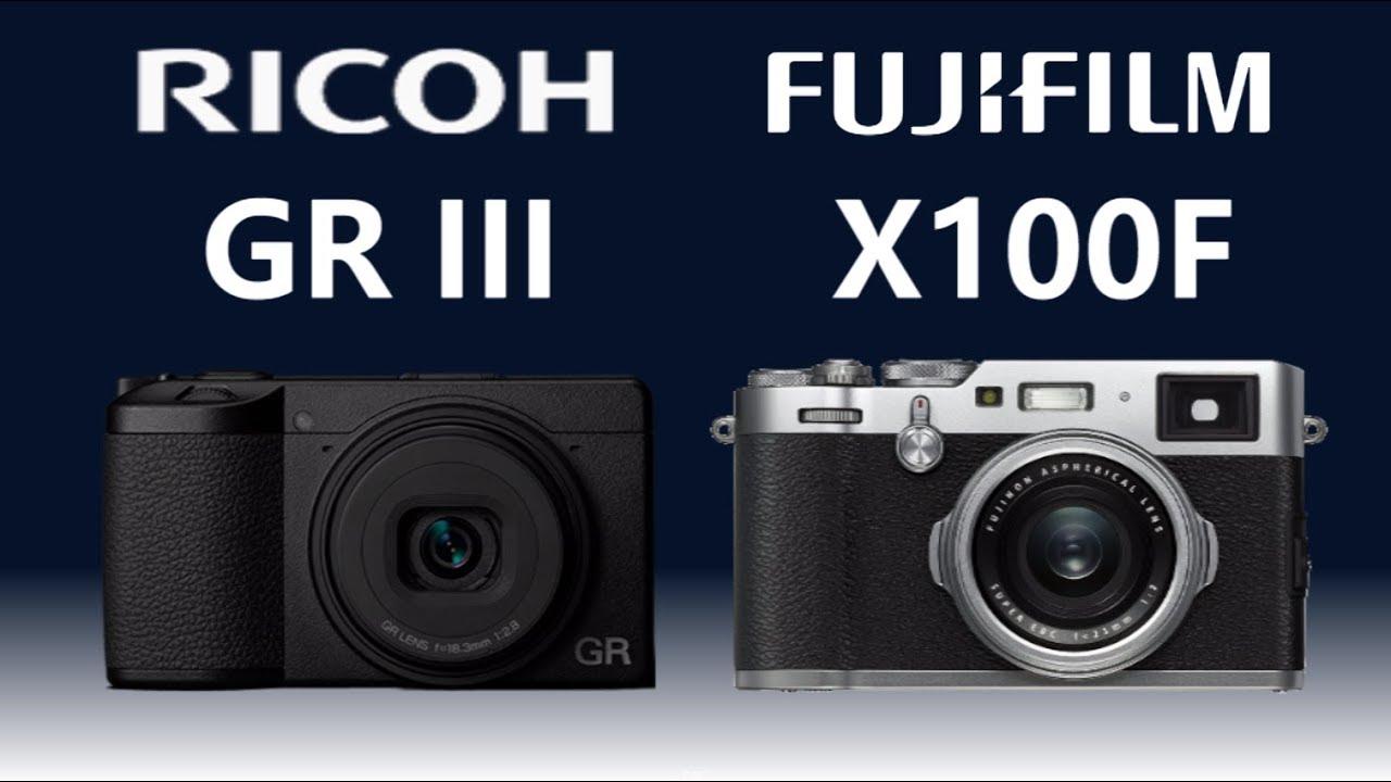 RICOH GR III vs FUJIFILM X100F