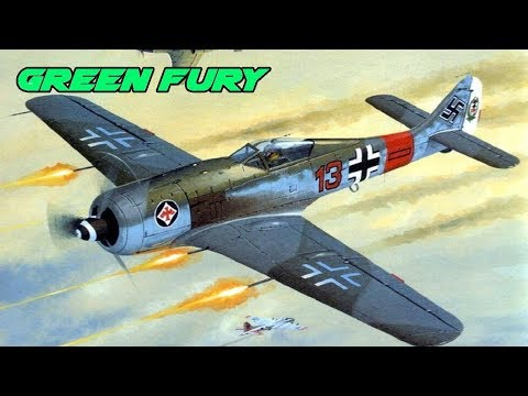 Fight of the Week - Fw190 A4 Vs Hellcat MkII - War Thunder - Flap Control