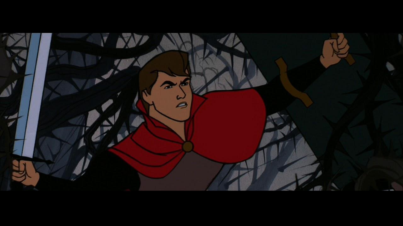 Download Sleeping Beauty(1959) - Prince Phillip versus Maleficent