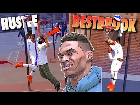 HUSTLE BESTBROOK At It AGAIN In The Playground - NBA 2K18 Road To 99