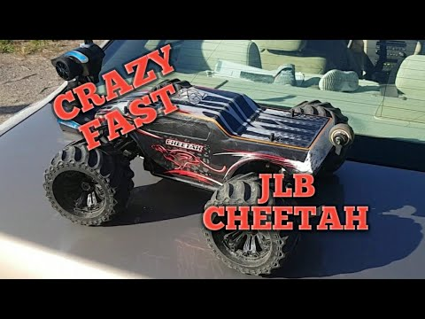 Crazy Fast RC Monster Truck: JLB Cheetah 120 Amp Version