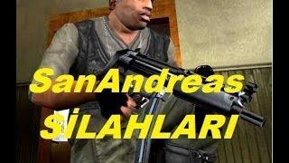 Gta SanAndreas Silahların Yerleri
