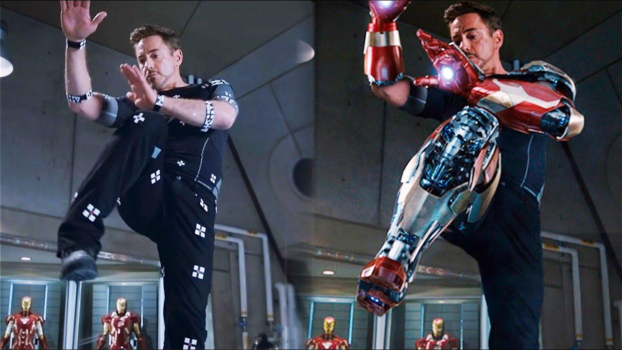 Imà Genes De Iron Man: Así Se Vería IRON MAN 3 Sin Efectos Especiales