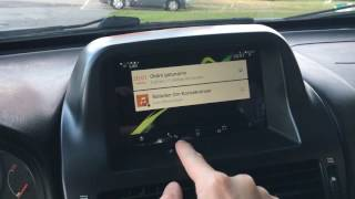 Android tablet in Nissan Almera N16