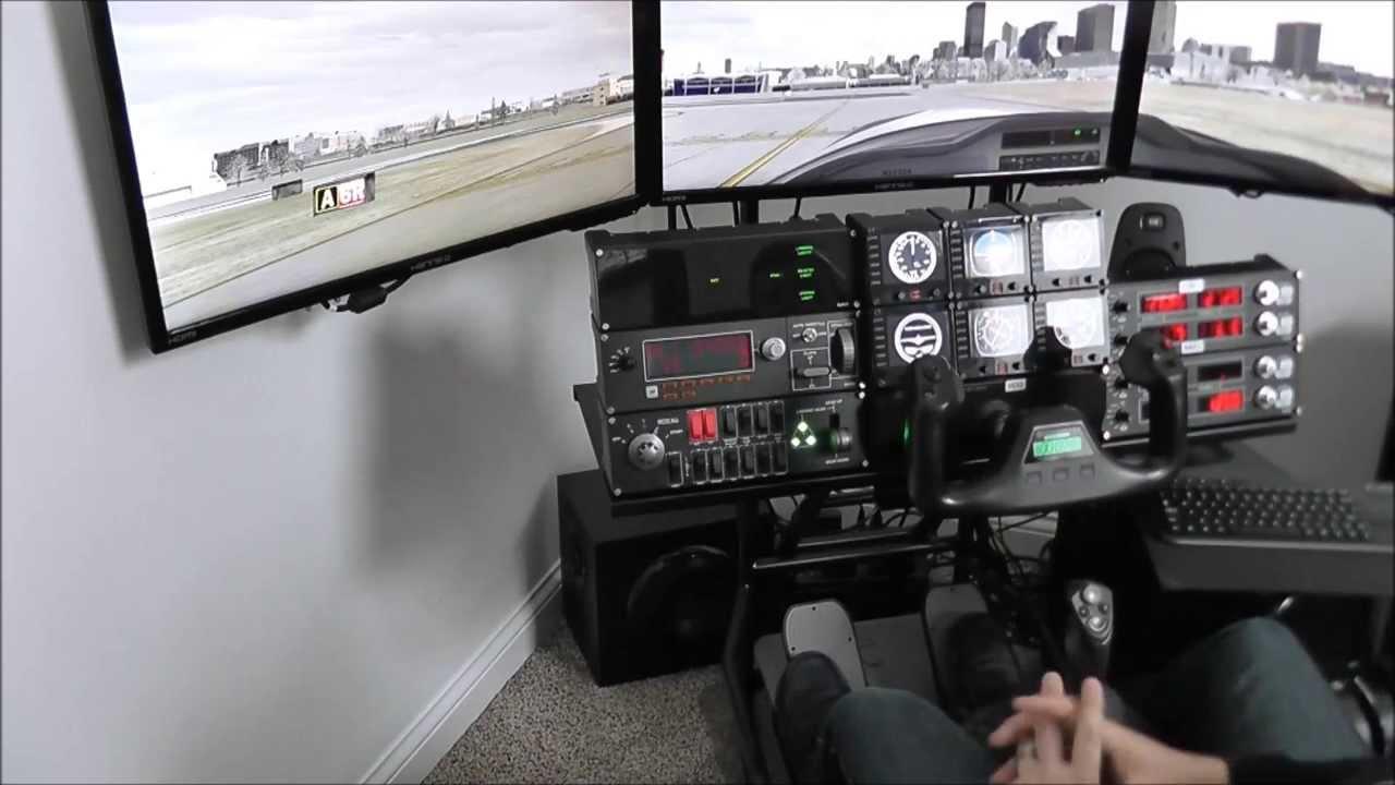 volair sim flight sim cockpit faq part ii and center stick mount