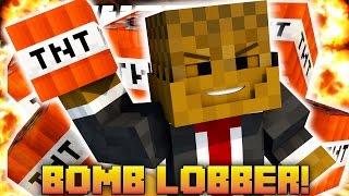 """Minecraft TNT DODGEBALL """"Bomb Lobbers"""" Minigame"""