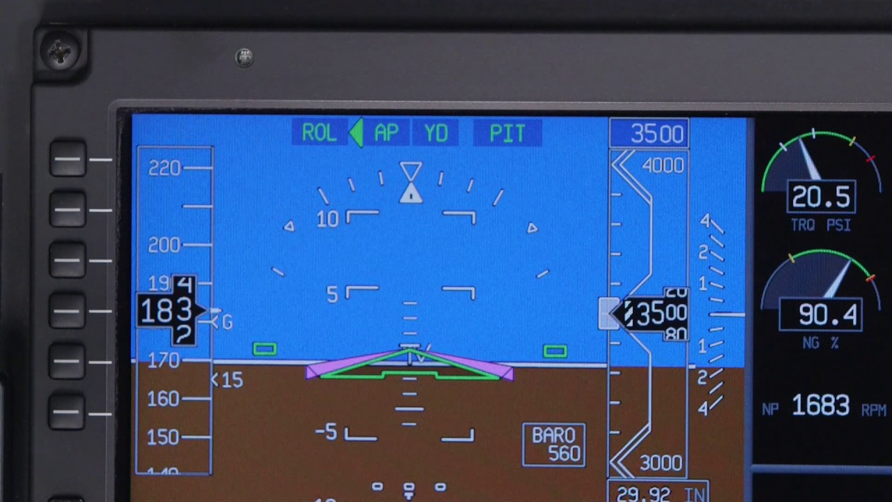 Flight Guidance Controller on the Pilatus PC-12 NG | Aero Training TV |  Honeywell Aviation