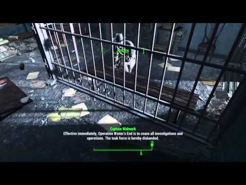 Fallout 4 Raw Live Stream - Hunting Eddie Winter 1