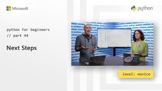 Next Steps | Python for Beginners [44 of 44]