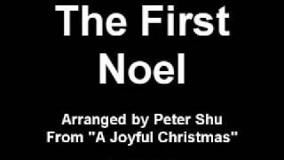 The First Noel - solo piano pop instrumental