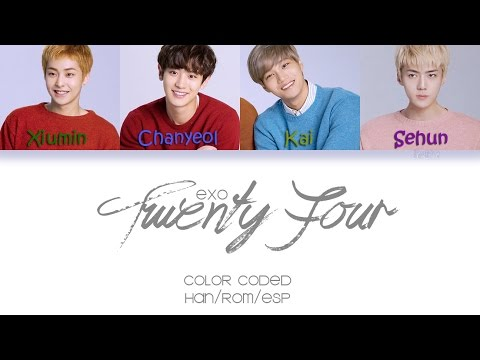 EXO - Twenty Four |Sub. Español + Color Coded| (HAN/ROM/ESP)