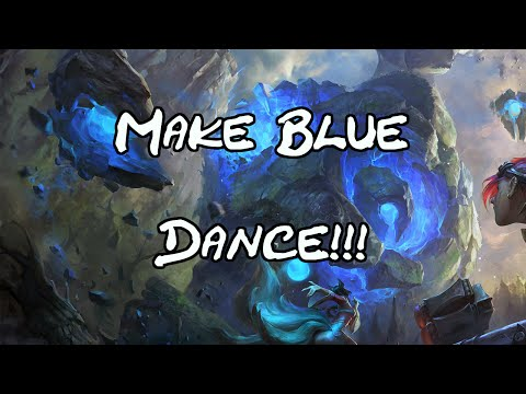 New Easter Egg! Popstar Ahri makes Blue Buff Dance.