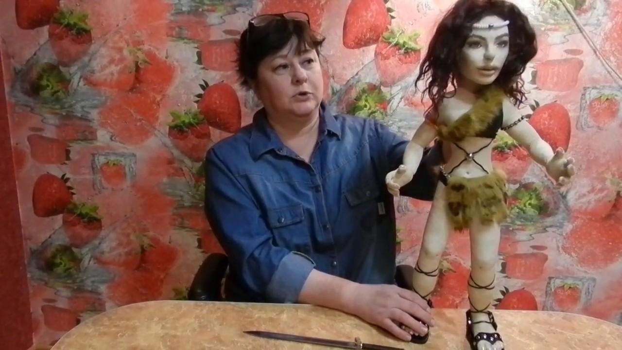 Как сделать каркас для куклы из капрона фото 31