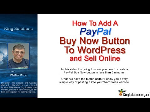 How to Add a PayPal Buy Now Button to WordPress and Sell Online