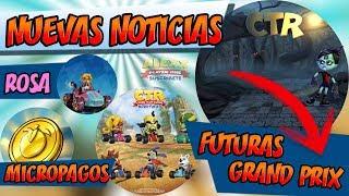 Futuras Grand Prix, Nuevos Funkos, Micropagos y más en Crash Team Racing Nitro Fueled (CTR Noticias)