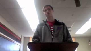 Gunnar Milota Information Speech