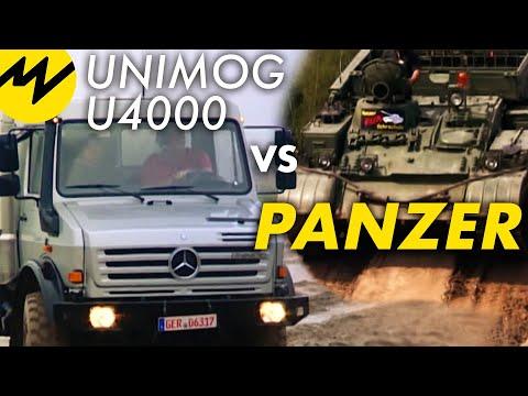 Unimog U4000 vs. Panzer