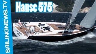 Hanse 575,  un bateau luxe et puissant