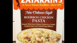 Zatarain's New Orleans Style Bourbon Chicken Pasta Review